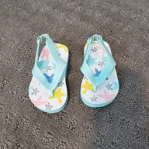 Cat & Jack Swim - Toddler swimsuit and flip flops